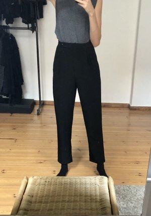 Asos Pantalon fuselé noir polyester