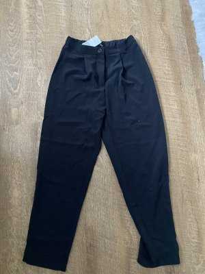H&M Spodnie Capri czarny