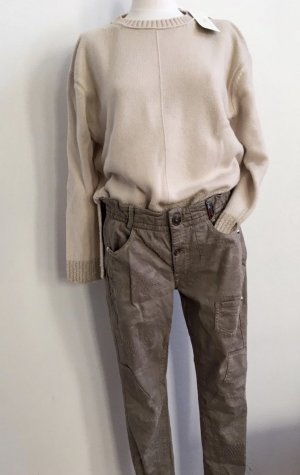 High - Everday Couture by Claire Campbell Kaki broek groen-grijs-khaki
