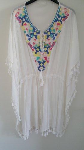 Vestido tipo túnica blanco
