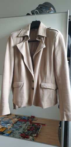 Lässige Jacke im Canban Look, camel/beige, angenehme Jerseyqualität