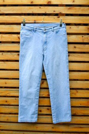 Escada Sport Jeansy z prostymi nogawkami błękitny-niebieski neonowy