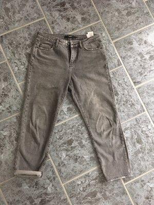 Vero Moda Pantalone boyfriend grigio
