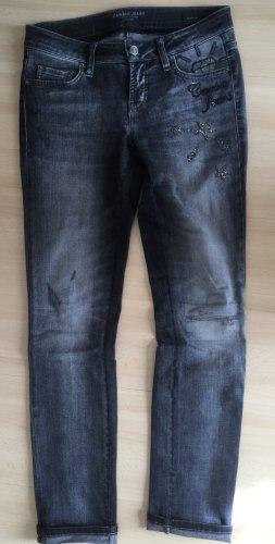 Cambio Jeans Jeans slim fit multicolore Cotone