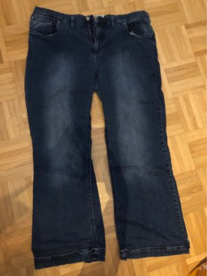 John Baner Denim Flares dark blue