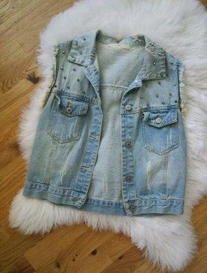 Vera & Lucy Smanicato jeans azzurro