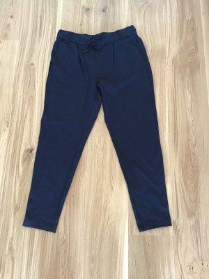 Only Pantalon chinos bleu foncé
