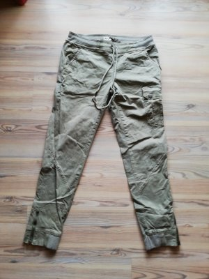 Khujo Pantalone peg-top grigio-verde