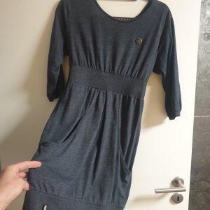 Naketano Sukienka mini szary niebieski