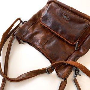 Lässige Leder Tasche von Spikes & Sparrow wie Neu VP 199,- Euro