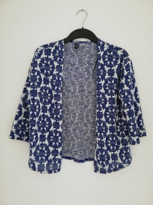 H&M Divided Shirtjack wit-donkerblauw