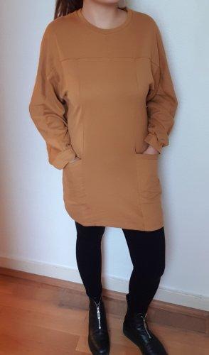 Lässige Oversize Sweatkleid/Casual Freizeit Kleid