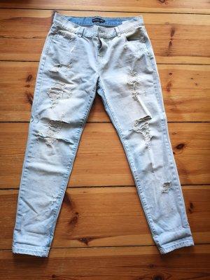 lässige ripped Jeans