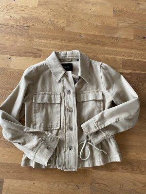 Opus Safari Jacket beige cotton