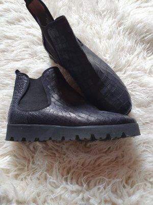 Pretty ballerinas Chelsea laarzen zwart Leer