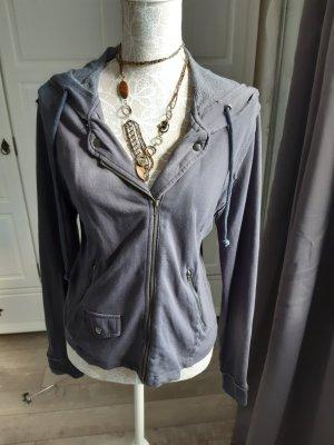 17&co Veste chemise bleu foncé coton