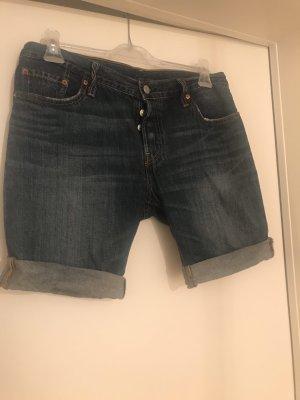 Levi's Pantalón corto de tela vaquera azul oscur