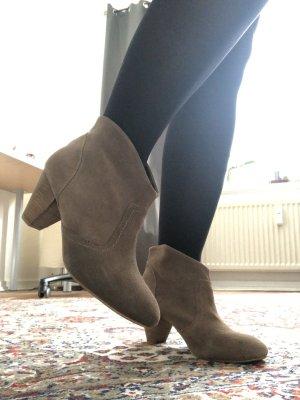 Görtz 17 Wciągane buty za kostkę beżowy-camel
