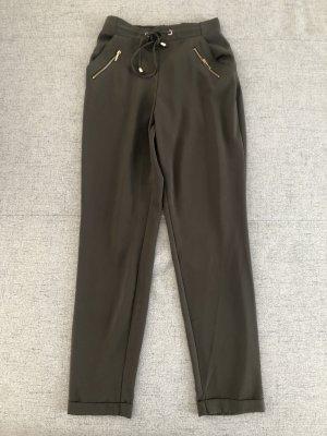 Atmosphere Pantalon taille haute vert olive-kaki