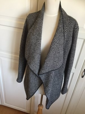 Zara Knit Wraparound Jacket multicolored