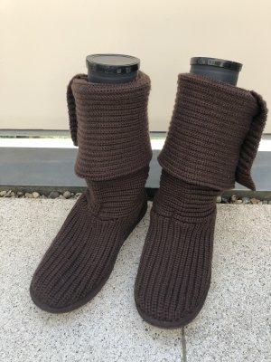 lässige UGG Boots in Strick