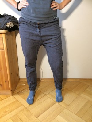 Scotch & Soda Pantalon «Baggy» noir-gris foncé