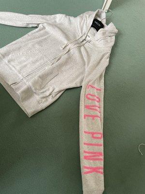 Pink Victoria's Secret Chaleco con capucha multicolor