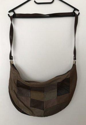 Bolsa Hobo taupe-marrón grisáceo