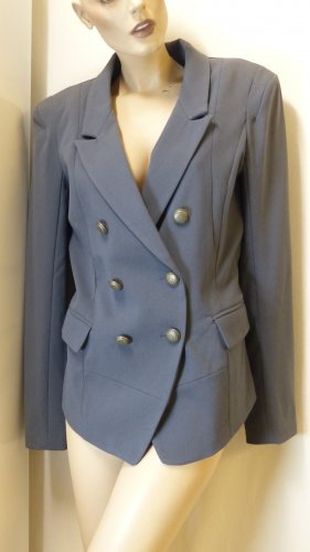 Object collectors item Blazer stile Boyfriend grigio scuro
