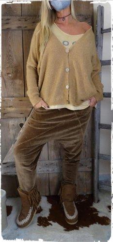 Wiya Pantalón boyfriend marrón