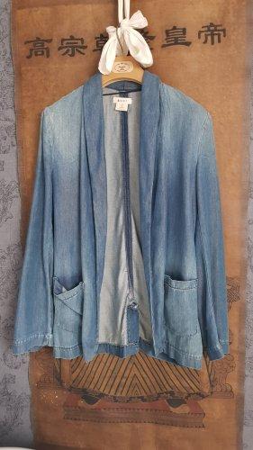 H&M Blazer vaquero azul-azul celeste