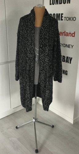 Jackie Morrisson Gebreide jas wit-zwart Katoen