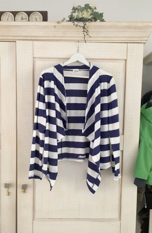 Bench Cardigan white-blue cotton