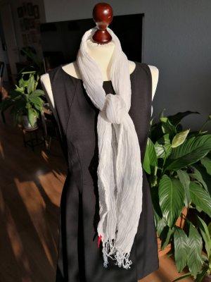 Esprit Bufanda arrugada blanco tejido mezclado