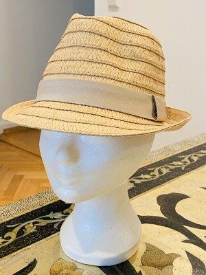Cappello di paglia color carne
