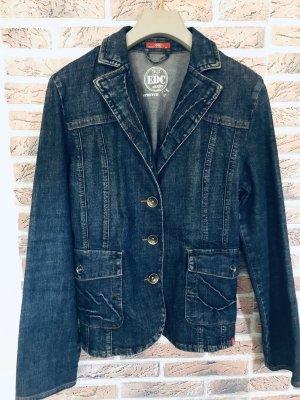 edc by Esprit Blazer en jean bleu foncé