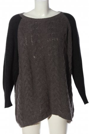 Luisa Cerano Crewneck Sweater multicolored wool