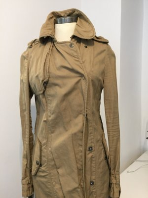 Brand Trench Coat sand brown
