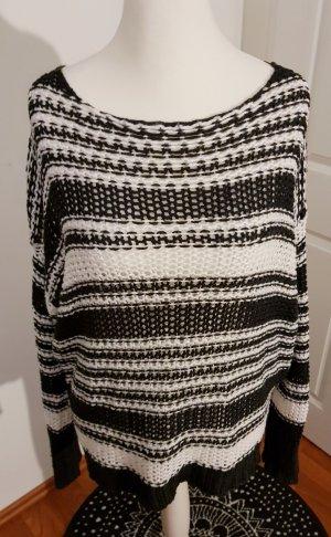 Billabong Coarse Knitted Sweater white-black