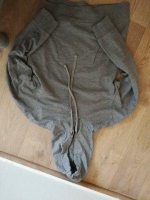 Crivit Hooded Sweater light grey-grey cotton