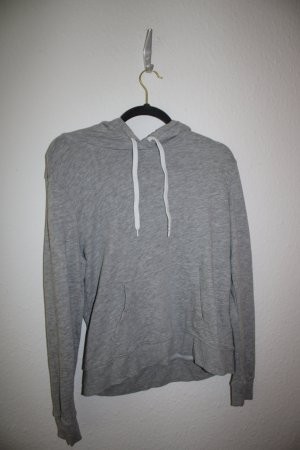 H&M Pull à capuche blanc-gris clair