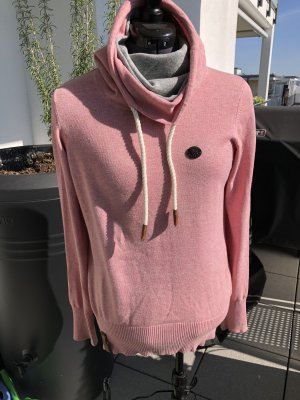 Naketano Maglione dolcevita color oro rosa-grigio chiaro Cotone