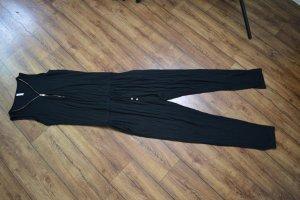 Lässiger schwarzer Jumpsuit Gr. 38 von Amisu