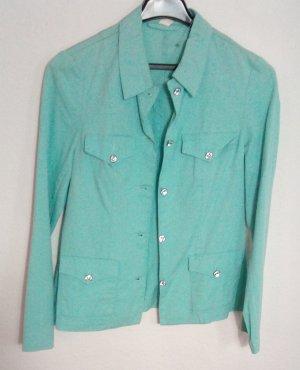 Basic Line Short Jacket lime-green