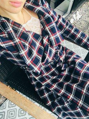 Active USA Sukienka płaszczowa Wielokolorowy Bawełna