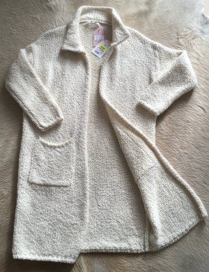 Liebesglück Knitted Coat natural white mixture fibre