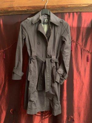 Anastacia by s.Oliver Trench Coat dark grey