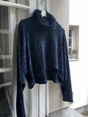 Motel Rocks Turtleneck Sweater dark blue