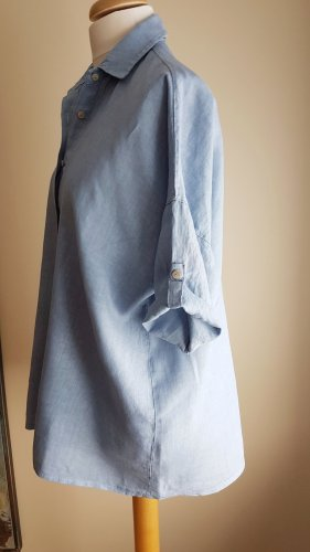 Made in Italy Long Blouse multicolored linen