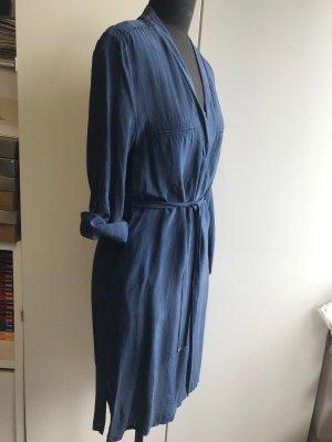 Laurèl Tunic Dress slate-gray copper rayon